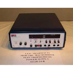 PHARMACIA Model: 2301 MACRODRIVE ELECTROPHORESIS POWER SUPPLY
