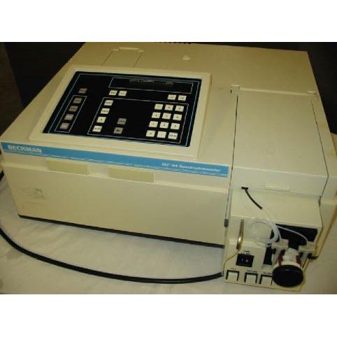 Beckman DU-64 UV-Vis spectrophotometer