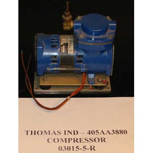 THOMAS INDUSTRIES Model: 405AA38800 PISTON COMPRESSOR