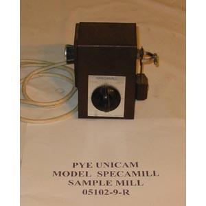 PYE UNICAM Model: SPECAMILL   SAMPLE MILL FOR IR SPECTROPHOTOMETER