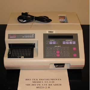 BIO-TEK INSTRUMENTS Model: EL312I   BIO-KINETICS MICROPLATE READER