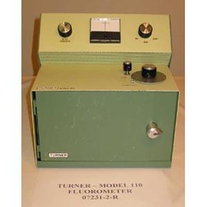 TURNER Model: 110   FILTER FLUOROMETER