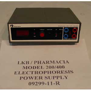 LKB / PHARMACIA Model: GPS 200/400   GPS POWER SUPPLY