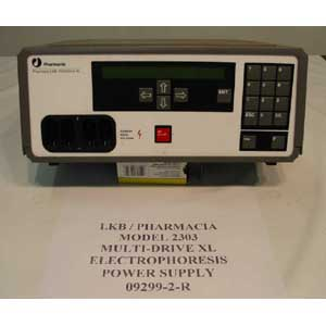 LKB / PHARMACIA Model: MULTI-DRIVE XL / 2303 ELECTROPHORESIS POWER SUPPLY