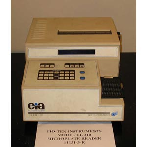 BIOTECH EIA Model: EL 310   MICROPLATE READER