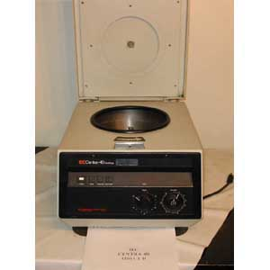 IEC Model: CENTRA 4B  HIGH-SPEED TABLE TOP CENTRIFUGE