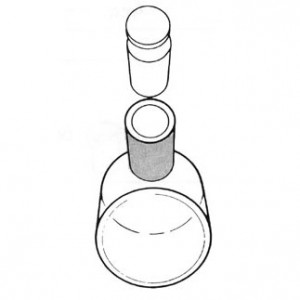 Hellma - Cylindrical Cells - Visible - 20mm path - 2 cells