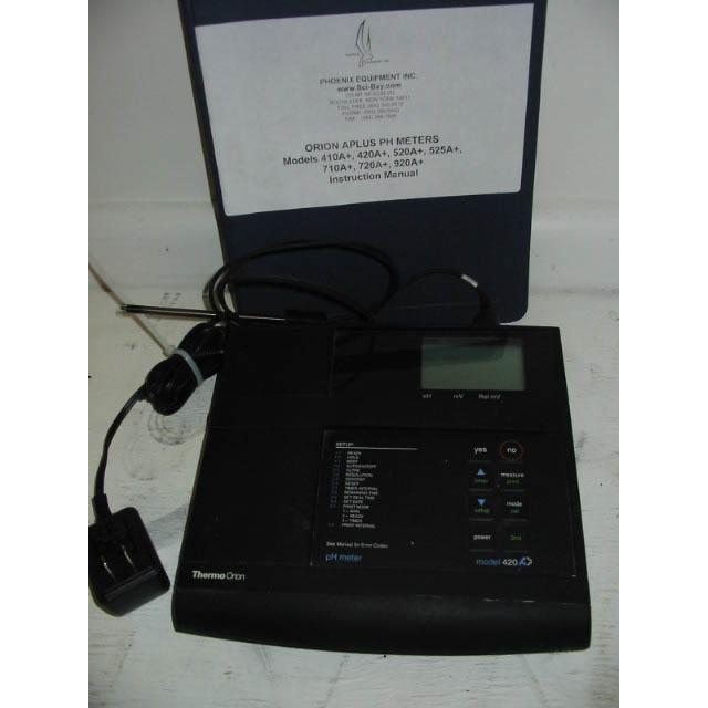 orion model 420a ph meter sci bay rh sci bay com