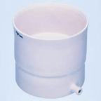 CoorsTek Porcelain Buchner Funnel with Fixed Perf Plate