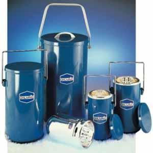 Scilogex DILVAC Blue Metal Cased Dewar Flasks